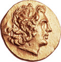 Ancients:Greek, Ancients: Time of Mithradates VI (120-63 BC). AV stater (21mm, 8.32gm, 12h)....