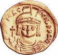 Ancients:Byzantine, Ancients: Maurice Tiberius (AD 582-602). AV solidus (22mm, 4.54 gm,6h)....