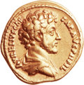 Ancients:Roman Imperial, Ancients: Marcus Aurelius as Caesar (AD 138-161). AV aureus (20mm,7.14 gm, 6h)....