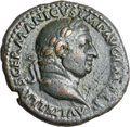 Ancients, Ancients: Vitellius (AD 69). AE as (28mm, 11.23 gm, 6h). ...