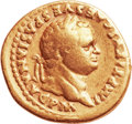 Ancients:Roman Imperial, Ancients: Titus (AD 79 - 81). AV aureus (20mm, 7.13 gm, 6h)....