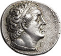 Ancients, Ancients: PTOLEMAIC EGYPT. Ptolemy II Philadelphus (285-246 BC). AR tetradrachm (26mm, 14.02 gm, 12h). ...