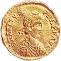 Ancients:Roman Imperial, Ancients: WEST ROMAN EMPIRE. Avitus (AD 455-456). AV solidus (21mm,4.35 gm, 6h)....