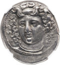 Ancients:Greek, Ancients: THESSALY. Larissa. Ca. 356-342 BC. AR didrachm (25mm,11.19 gm, 6h). ...