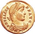 Ancients:Roman Imperial, Ancients: Valens (AD 364-378). AV solidus (22mm, 4.35 gm, 12h). ...