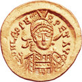 Ancients:Roman Imperial, Ancients: Leo I (AD 457-474). AV solidus (21mm, 4.47 gm,6h). ...
