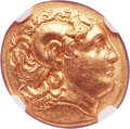 Ancients:Greek, Ancients: THRACIAN KINGDOM. Lysimachus (323-281 BC). AV stater (19mm, 8.51gm, 2h)....