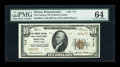 National Bank Notes:Pennsylvania, Bristol, PA - $10 1929 Ty. 2 The Farmers NB of Bucks County Ch. #717. ...