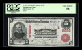 National Bank Notes:Pennsylvania, Ellsworth, PA - $5 1902 Red Seal Fr. 587 NB of Ellsworth Ch. #(E)6929. ...