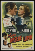 "Movie Posters:Crime, Enter Arsene Lupin (Universal, 1944). One Sheet (27"" X 41""). Crime...."