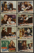 "Movie Posters:Action, Here's Flash Casey (Grand National, 1938). Lobby Card Set of 8 (11"" X 14""). Action. ..."