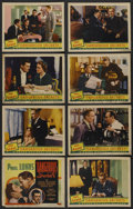 """Movie Posters:Drama, Dangerous Secrets (Grand National, 1938). Lobby Card Set of 8 (11""""X 14""""). Also known as """"Brief Ecstasy."""" Drama. ..."""