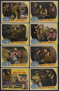 "Movie Posters:Western, Boot Hill Bandits (Monogram, 1942). Lobby Card Set of 8 (11"" X14""). Western. ..."