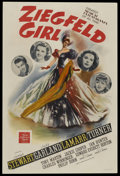 "Movie Posters:Musical, Ziegfeld Girl (MGM, 1941). One Sheet (27"" X 41"") Style D. Musical...."
