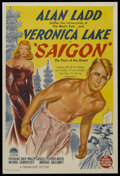 "Movie Posters:Drama, Saigon (Paramount, 1948). Australian One Sheet (27"" X 40""). Drama...."