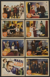 """The Gold Racket (Grand National, 1937). Lobby Card Set of 8 (11"""" X 14""""). Thriller"""