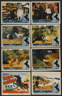 "King of the Sierras (Grand National, 1938). Lobby Card Set of 8 (11"" X 14""). Western. ... (Total: 8 Items)"