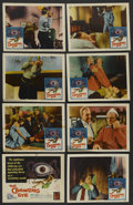 """Movie Posters:Science Fiction, The Crawling Eye (DCA, 1958). Lobby Card Set of 8 (11"""" X 14"""").Science Fiction. ..."""