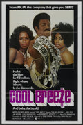 "Movie Posters:Blaxploitation, Cool Breeze (MGM, 1972). One Sheet (27"" X 41""). Blaxploitation. ..."