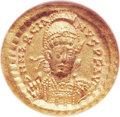 Ancients:Roman Imperial, Ancients: EAST ROMAN EMPIRE. Marcian (AD 450-457). AV solidus(20mm, -- gm, 6h). ...