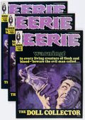 Magazines:Horror, Eerie #15 Group (Warren, 1968) Condition: Average NM.... (Total: 3 Comic Books)