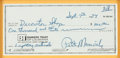 Basketball Collectibles:Others, 1984 Pete Maravich Signed Check. ...