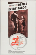"Movie Posters:Exploitation, I Spit on Your Grave (Audubon, 1963). One Sheet (27"" X 41"").Exploitation.. ..."