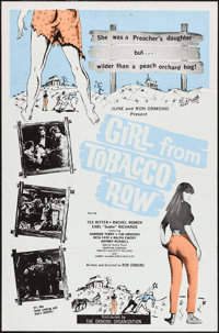 """Girl from Tobacco Row (Ormond, 1966). One Sheet (27"""" X 41""""). Exploitation"""