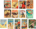 Big Little Book:Miscellaneous, Big Little Book Group (Whitman, 1939-68) Condition: Average VG....(Total: 13 Comic Books)