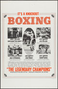 "Movie Posters:Sports, The Legendary Champions (Big Fights, 1968). One Sheet (27"" X 41"").Sports.. ..."