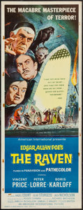 "Movie Posters:Horror, The Raven (American International, 1963). Insert (14"" X 36""). Horror.. ..."