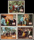 """Movie Posters:Adventure, Captain from Castile (20th Century Fox, 1947). Lobby Cards (5) (11""""X 14""""). Adventure.. ... (Total: 5 Items)"""