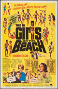 "Movie Posters:Rock and Roll, The Girls on the Beach (Paramount, 1965). One Sheet (27"" X 41""). Rock and Roll.. ..."