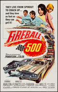 """Movie Posters:Action, Fireball 500 (American International, 1966). One Sheet (27"""" X 41""""). Action.. ..."""