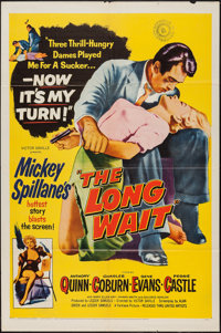 "The Long Wait (United Artists, 1954). One Sheet (27"" X 41""). Film Noir"