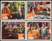 """Prince of Foxes (20th Century Fox, 1949). Lobby Cards (4) (11"""" X 14""""). Adventure. ... (Total: 4 Items)"""