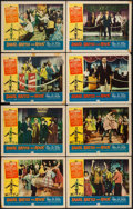 "Movie Posters:Rock and Roll, Shake, Rattle and Rock (American International, 1956). Lobby CardSet of 8 (11"" X 14""). Rock and Roll.. ... (Total: 8 Item)"