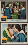 "Movie Posters:Swashbuckler, The Three Musketeers (MGM, 1948). Lobby Cards (2) (11"" X 14""). Swashbuckler.. ... (Total: 2 Items)"