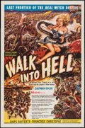 "Movie Posters:Adventure, Walk into Hell (Patric, 1957). One Sheet (27"" X 40.5""). Adventure....."