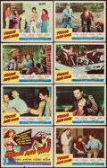 """Movie Posters:Bad Girl, Young and Wild (Republic, 1958). Lobby Card Set of 8 (11"""" X 14"""").Bad Girl.. ... (Total: 8 Items)"""