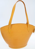 Luxury Accessories:Bags, Louis Vuitton Yellow Epi Leather St. Jacques Shoulder Bag. ...