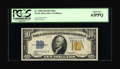 Small Size:World War II Emergency Notes, Fr. 2308 $10 1934 North Africa Silver Certificate. PCGS Choice New63PPQ.. ...