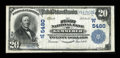 National Bank Notes:Wyoming, Kemmerer, WY - $20 1902 Plain Back Fr. 659 The First NB Ch. #(W)5480. ...