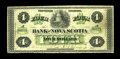 Canadian Currency: , Halifax, NS- The Bank of Nova Scotia $4 July 2, 1877 Ch. 550-16-06. ...
