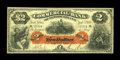 Canadian Currency: , St. Johns, NFD- Commercial Bank of Newfoundland $2 Jan. 3, 1888 Ch.185-18-04. ...