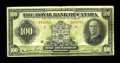Canadian Currency: , Montreal, PQ- The Royal Bank of Canada $100 Jan. 3, 1927 Ch.630-14-20. ...