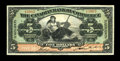 Canadian Currency: , Toronto, ONT- The Canadian Bank of Commerce $5 Jan. 2, 1922 Ch.75-20-04 Barbados Issue. ...