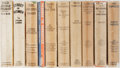 Books:Literature 1900-up, [Photoplay Editions]. Ten Classic Photoplays. All published byGrosset & Dunlap. All in original bindings and pictorialdust...