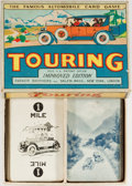 Miscellaneous:Gaming Collectibles, [Card Games]. Touring, the Famous Automobile Card Game. ParkerBrothers, no date (circa 1920s). Improved edition. Traycase i...