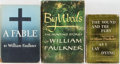 Books:Literature 1900-up, William Faulkner. Three Books, Two Being First Printings,including: A Fable (first printing); Big Woods (firstprin... (Total: 3 Items)